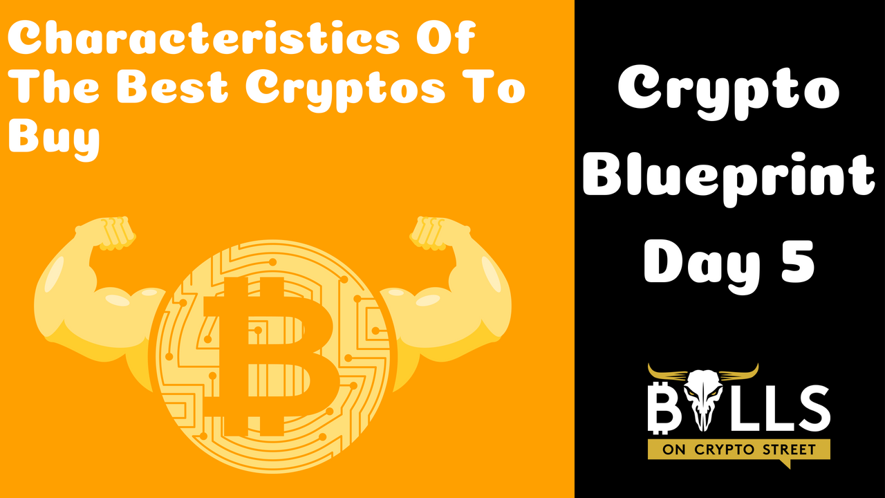 Characteristics Of The Best Cryptos To Buy | Crypto Blueprint Day 5