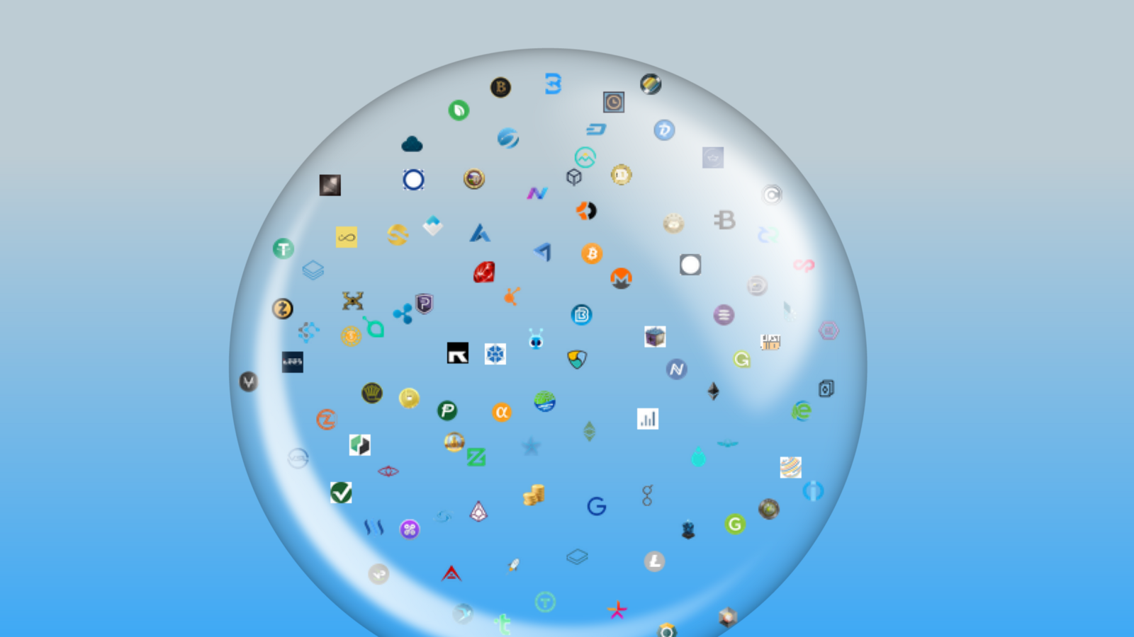 crypto bubble